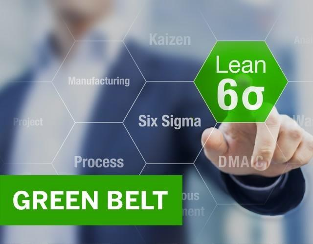 Certificación en Green Belt Six Sigma